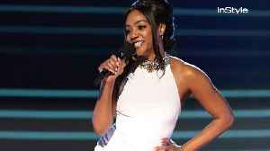 News video: Tiffany Haddish Re-Wore Her White SNL and Oscars Dress at the MTV Movie & TV Awards