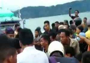 News video: Dozens Missing After Vessel Capsizes in Indonesia's Lake Toba