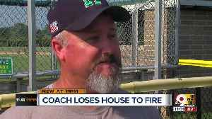 News video: Harrison rallies behind coach after house fire