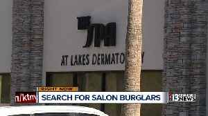 Salon manager says she suspects more people behind burglaries