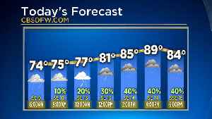News video: Tuesday Morning Weather Forecast With Jeff Jamison
