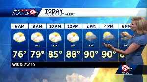 News video: First Alert: Storms possible Tuesday afternoon