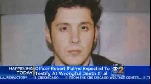 News video: Officer Rialmo To Testify In Wrongful Death Lawsuit Filed By Quintonio LeGrier Family