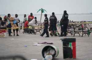 Coney Island beach brawl ends with teen stabbed in back, man slashed in face