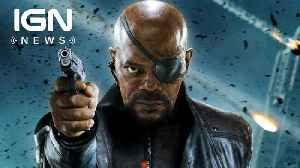 News video: Samuel L. Jackson Reveals Nick Fury and Black Panther Will Meet - IGN News