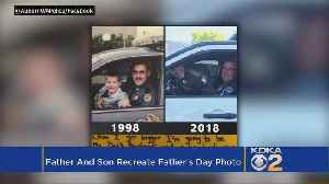 Father, Son Re-Create Special Father's Day Photo 20 Years Later