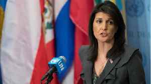 News video: Pompeo, Haley to Speak About U.N. Human Rights Council Withdrawal