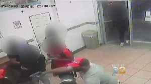 News video: Upper Darby Police Release Surveillance Video Of Violent Shooting Inside Chinese Restaurant