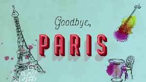 News video: There's More Than One Way To Find Happiness In GOODBYE, PARIS | Official Book Trailer