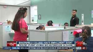 News video: Bakersfield College offers one-day express enrollment