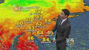 News video: Tuesday Mid-Day Weather Forecast: Mix Of Sun & Clouds; High 89