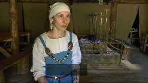 News video: Viking culture comes alive in Kaliningrad village