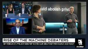 News video: IBM Robot Debater Takes on Humans, Sifting Through Fake and Real News