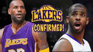 """News video: Chris Paul: """"LeBron WANTS To Play In Los Angeles"""""""