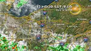 News video: Reporter Update: Latest Afternoon Weather Update From Jeff Verszyla