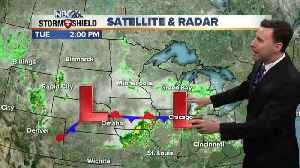 News video: Michael Fish's NBC26 afternoon weather update