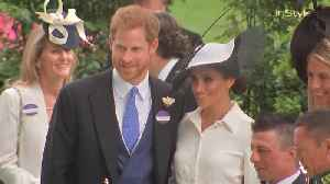 Right Now: Prince Harry and Meghan Markle Attend Royal Ascot