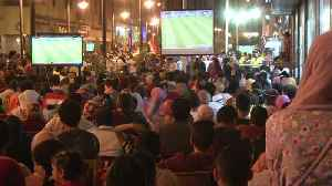 News video: Egypt fans down after defeat by Russia
