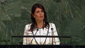 News video: United States Withdraws from UN Human Rights Council