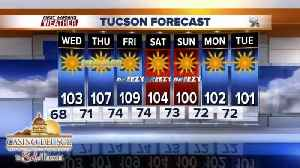 News video: Friday may be our first 110° day of the year!