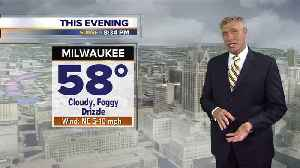 News video: Cool and cloudy Tuesday night