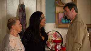 EastEnders Soap Scoop! Jean's husband in domestic violence row [Video]