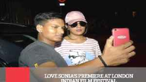 News video: Love Sonia's Premiere At London Indian Film Festival