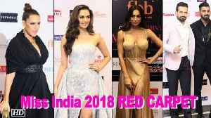 Femina Miss India 2018 RED CARPET | Stunning Judges Panel Steal The show [Video]
