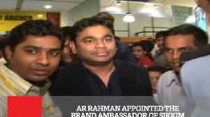 Ar Rahman Appointed The Brand Ambassador Of Sikkim [Video]