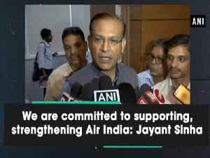 We are committed to supporting, strengthening Air India: Jayant Sinha