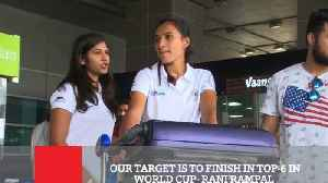 Our Target Is To Finish In Top-6 In World Cup- Rani Rampal