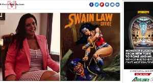 Democratic Candidate Criticized for Poster of Wonder Woman Lassoing Cop