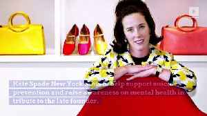 Kate Spade Foundation to Donate $1M to Mental Health