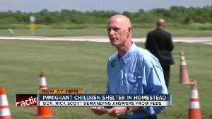 News video: Gov. Scott: Separating migrant children from families 'needs to stop now'