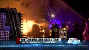 News video: Firefighters continue to investigate cause of construction site fire