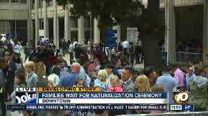 Families gather for naturalization ceremony