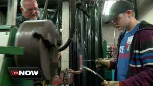 News video: Southeast Wisconsin students get elbow deep in the plumbing trade
