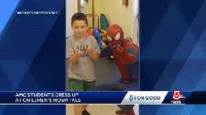 News video: 5 For Good: AMC students dress up at children's hospitals