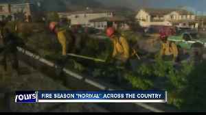 News video: Fire season outlook