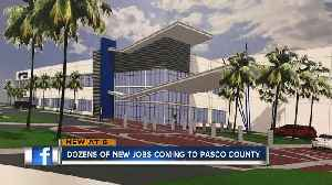 News video: Medical equipment company bringing 116 jobs to Pasco County