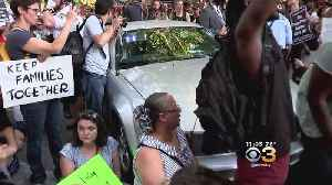 News video: Protesters Greet Vice President Pence In Philly During GOP Fundraiser