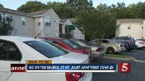 Several Families Without Air Conditioning at Mt. Juliet Apartment Complex