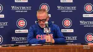 News video: Cubs manager Joe Maddon on Mike Montgomery: 'We needed the six, and he did it'