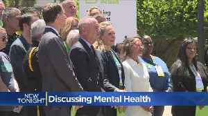 News video: Mental Health Crisis In Spotlight At Capitol Rally