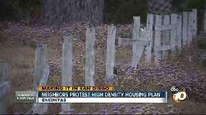 News video: Making It In San Diego: Neighbors protest high density housing plan