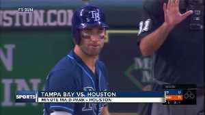 News video: Tampa Bay Rays win 2-1, end Houston Astros' 12-game winning streak
