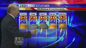 News video: Marty Bass Wednesday Morning Weather