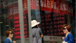 China Stocks Down Amid Trade War