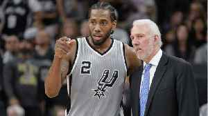 News video: Did Gregg Popovich And Kawhi Leonard Have A Meeting?