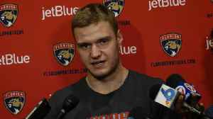 Barkov on addition of Hoffman: We're really excited to have him on our team